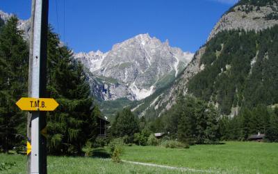 Tour du Massif du Mont Blanc sur 7 jours