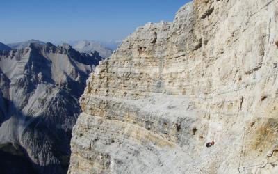 Semaine de via-ferrata dans les Dolomites