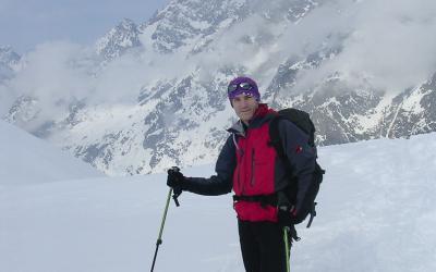 Ski de rando avec l'UCPA Argentière
