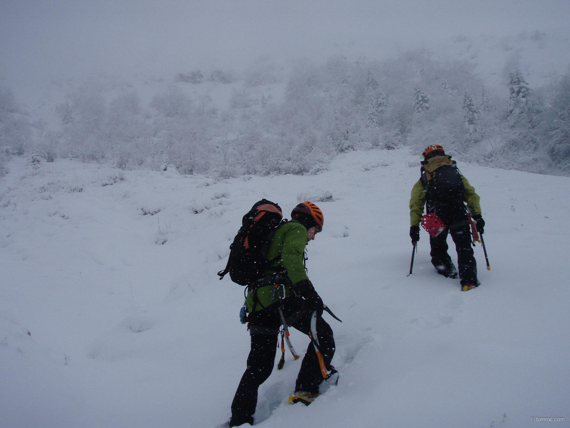 Alpinisme dans le Cantal