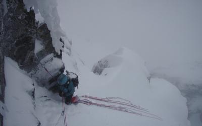 Alpinisme au Ben Nevis (Ecosse)