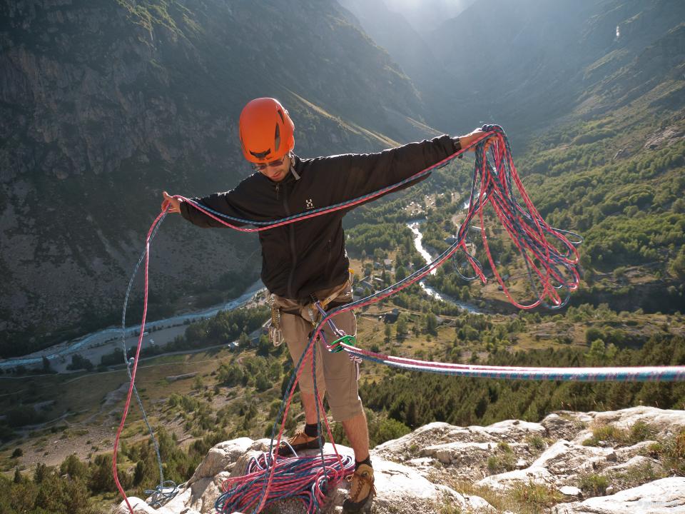 L'art du jeté de cordes pour le rappel