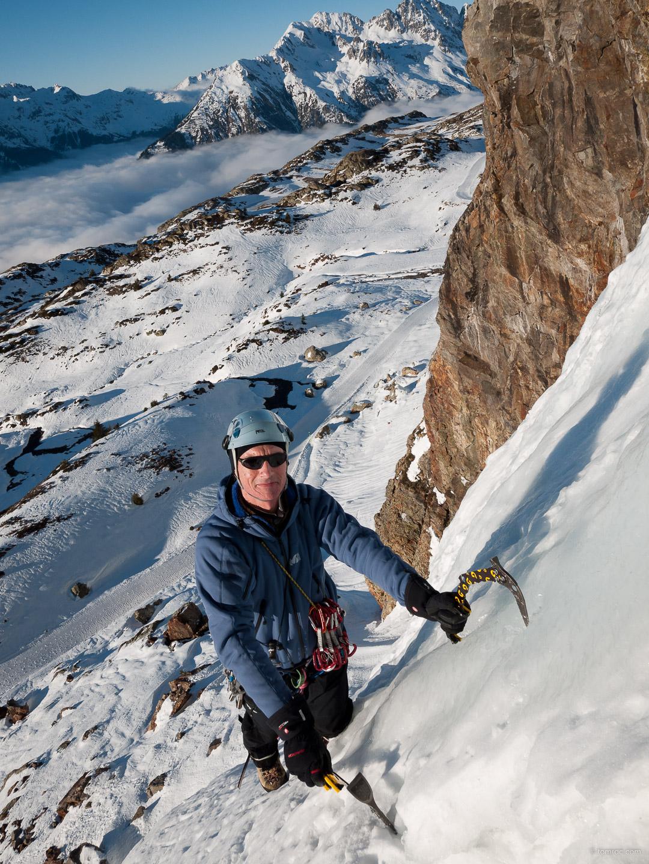 1ers glaçons, à l'Alpes d'Huez !