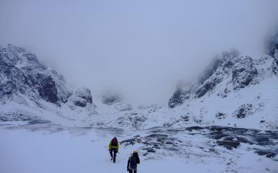 Alpinisme au Ben Nevis en Ecosse, 2ème
