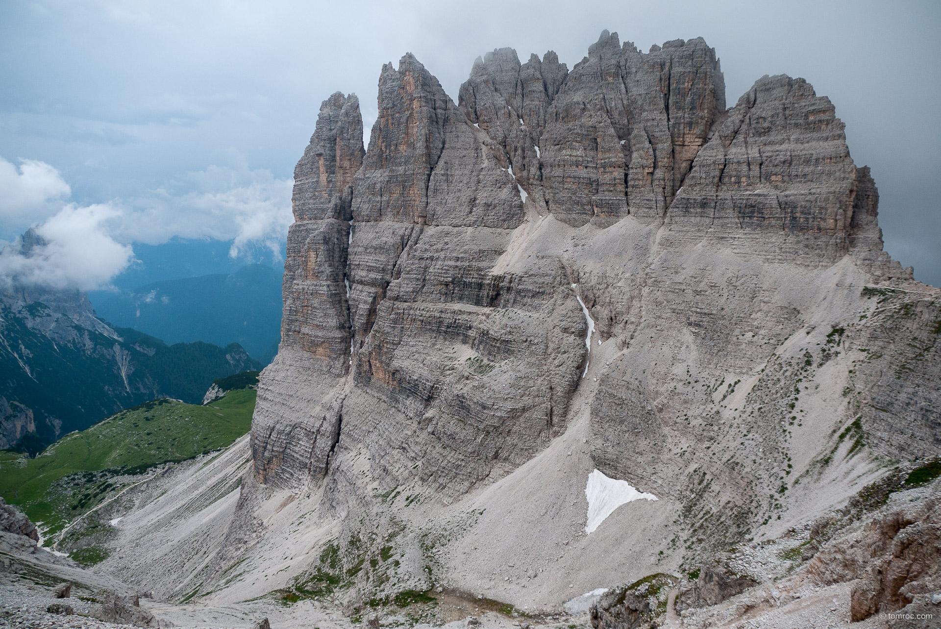 Week-end via ferrata dans les Dolomites, Italie