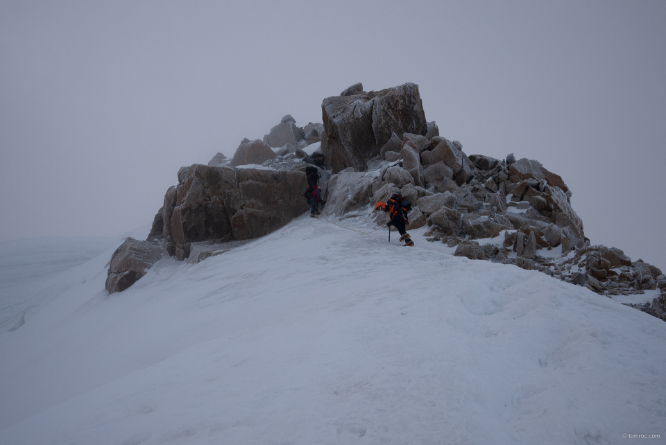 Sommet du Mont Blanc du Tacul.