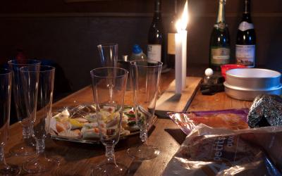 Nouvel an au refuge de Chambeyron