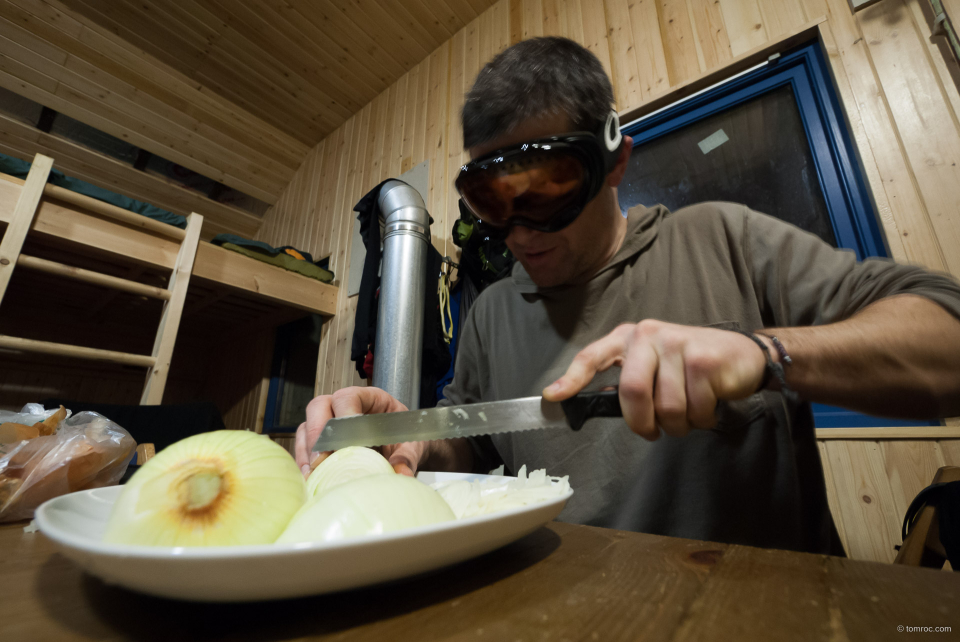 La technique des oignons selon Julien.