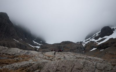 Alpinisme au Ben Nevis (Ecosse) 2012