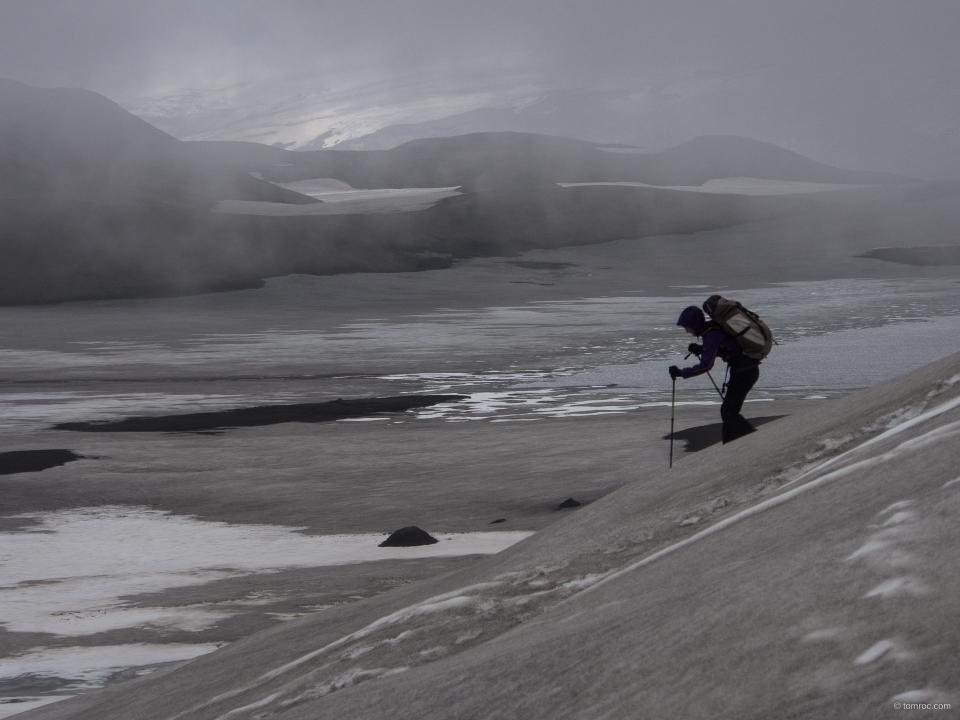 Sur le trek Skogar - Landmannalaugar