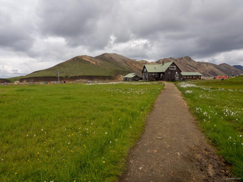 Refuge du Landmannalaugar