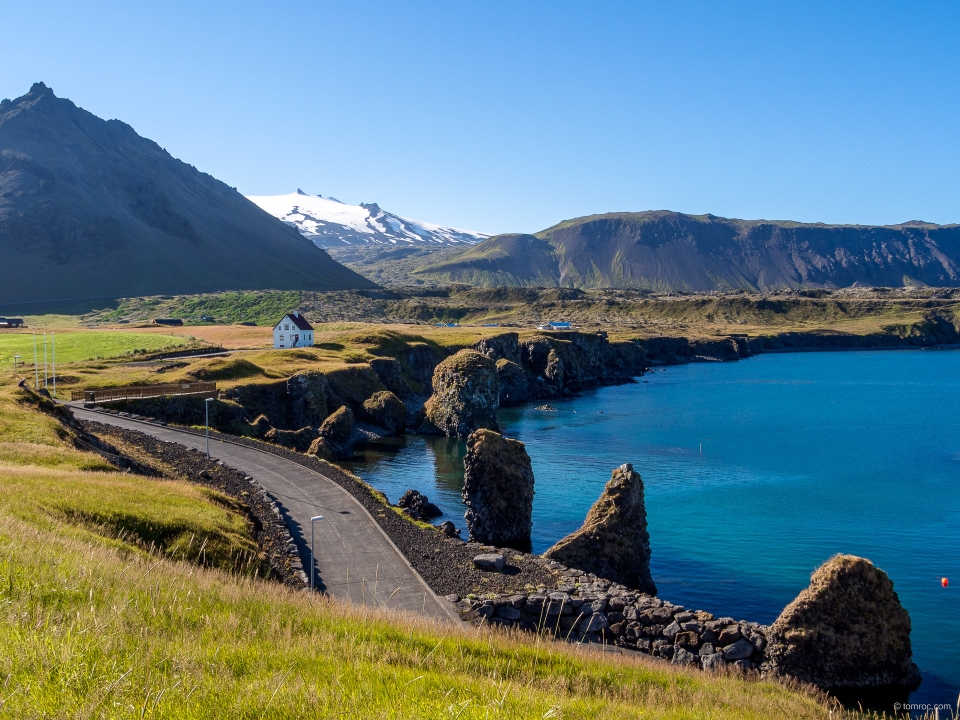 Port d'Anarstapi, Islande
