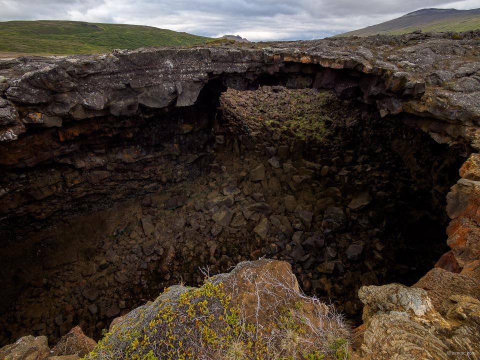 Tunnel de lave - Viðgelmir