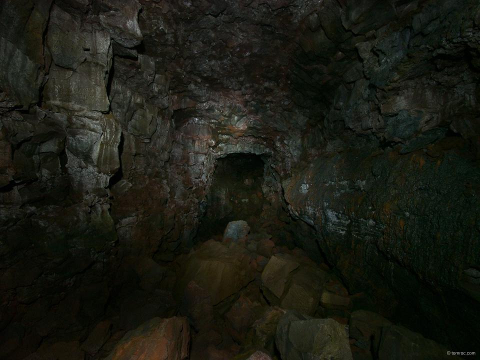 Tunnel de lave - Raufarhólshellir