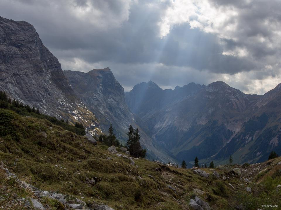 A la montée au col de la Vanoise