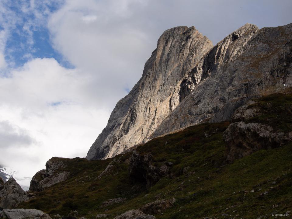 La face nord de l'Aiguille