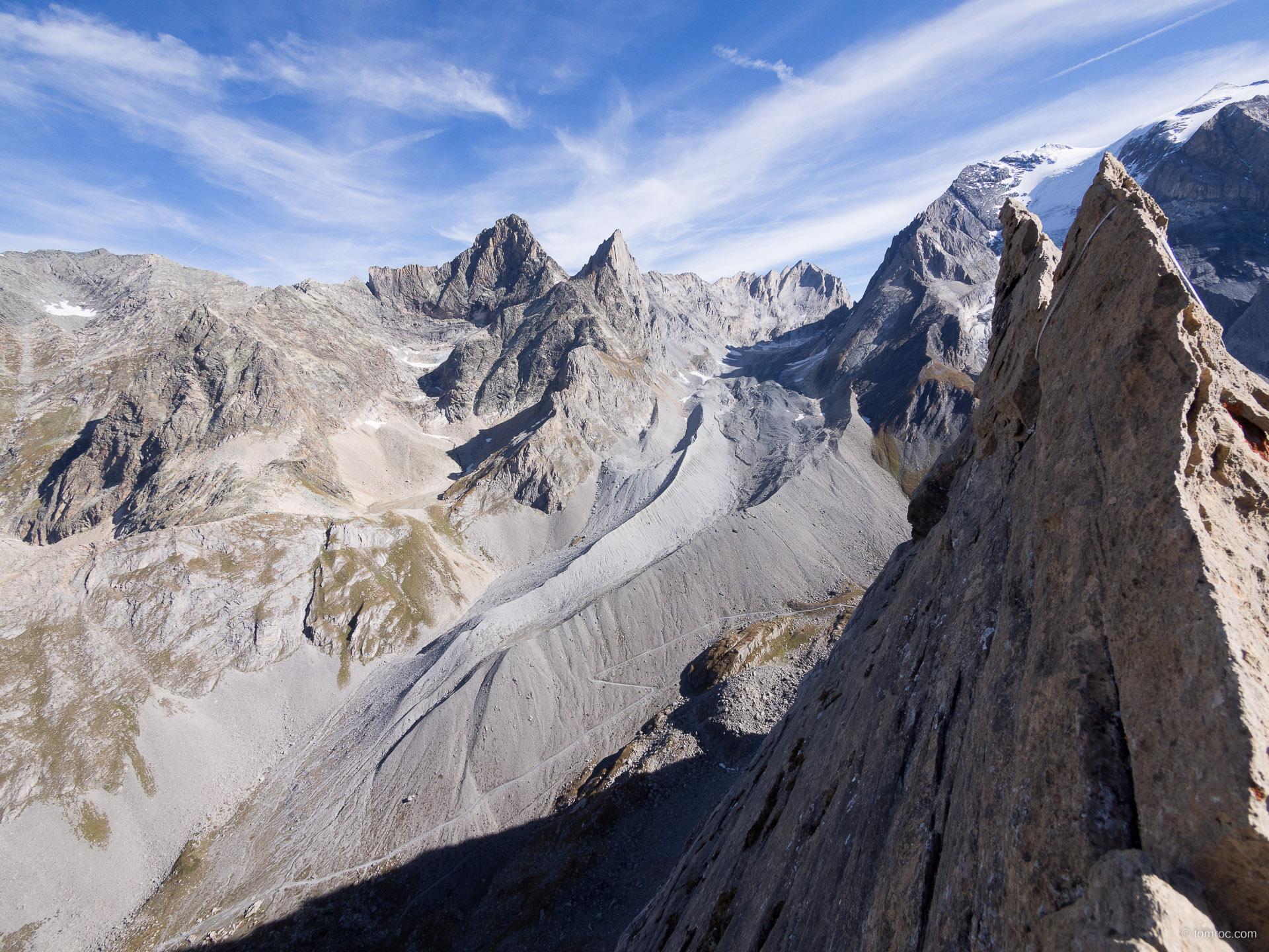 Alpinisme à l'Aiguille de la Vanoise