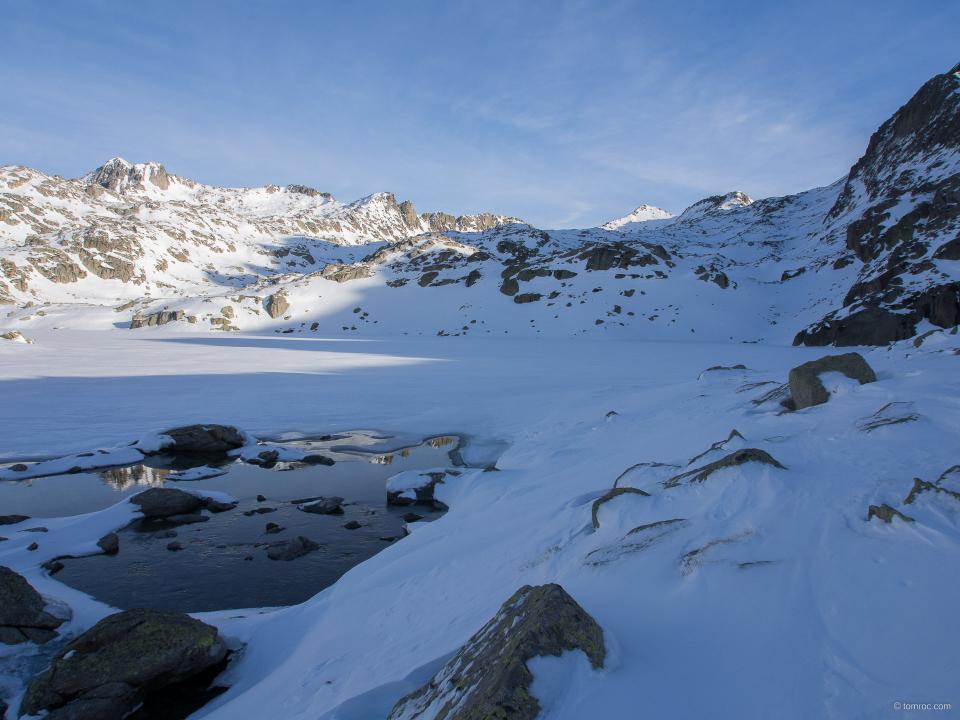 Encantats, région des lacs