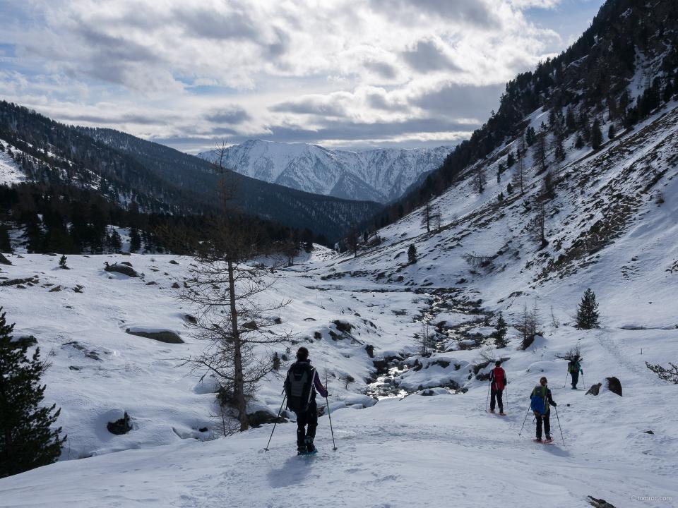 Descente du vallon Vallanta