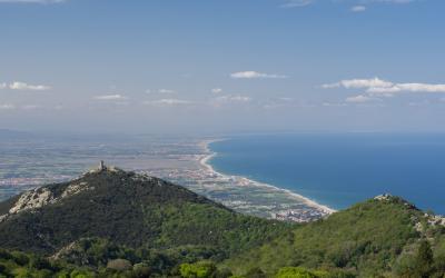 Randonnée sur la frontière espagnole