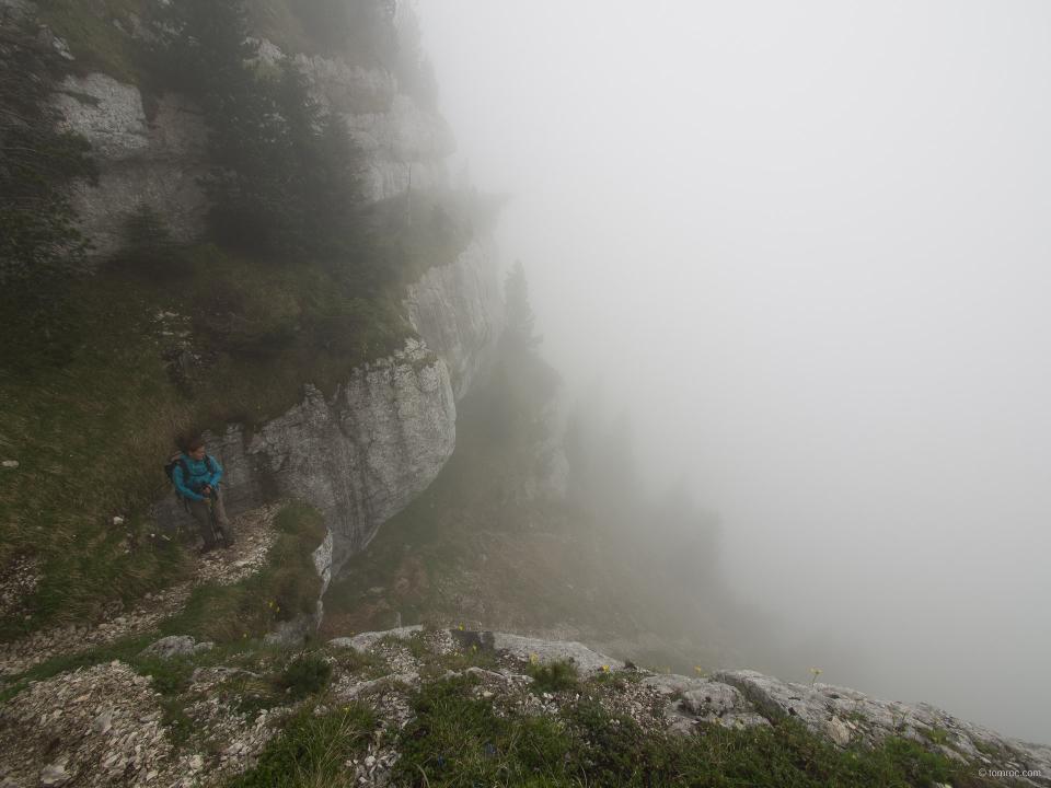 Pas d'escalade au pas du fouda blanc