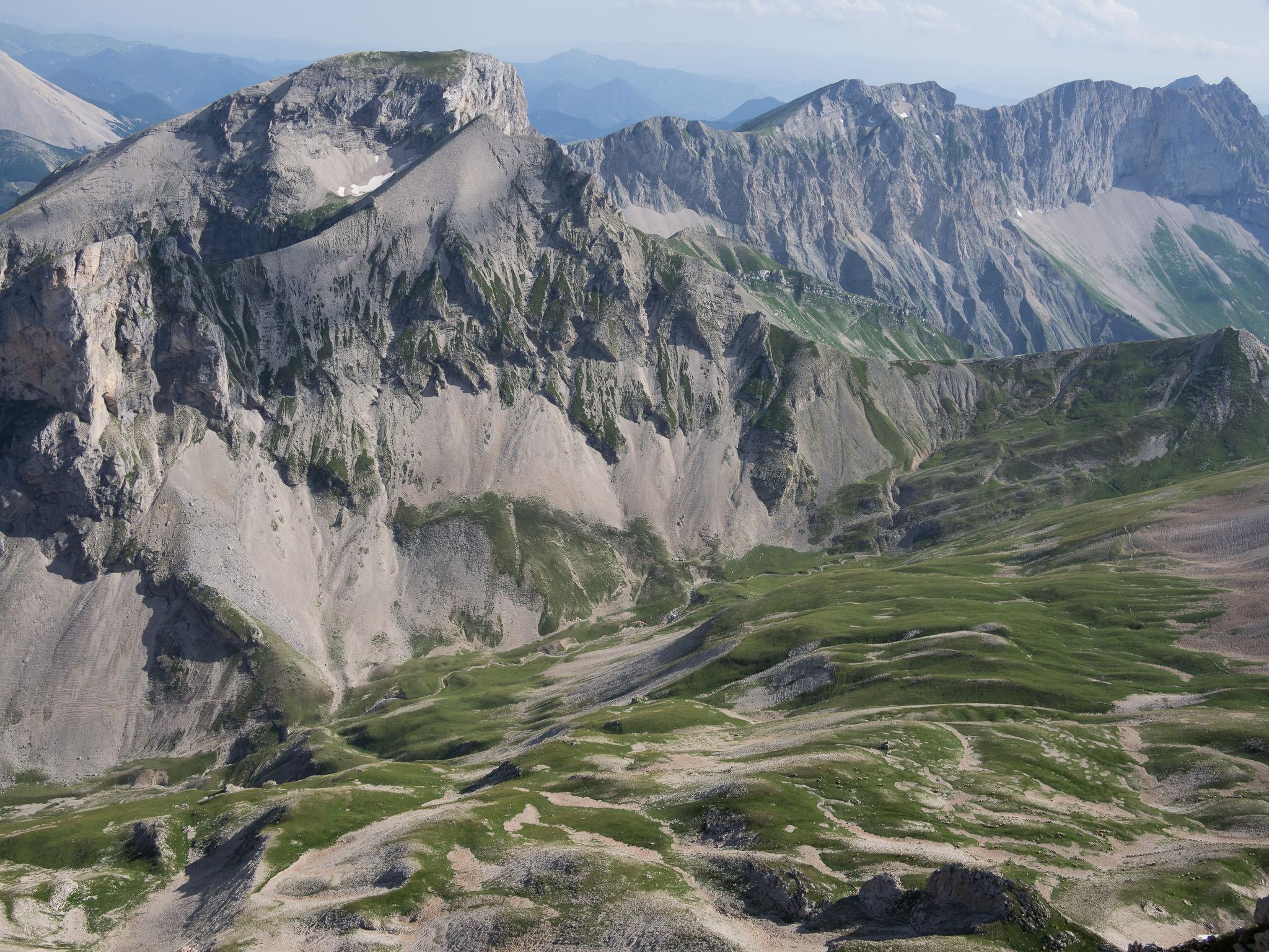 Randonnée vertige au Grand Ferrand