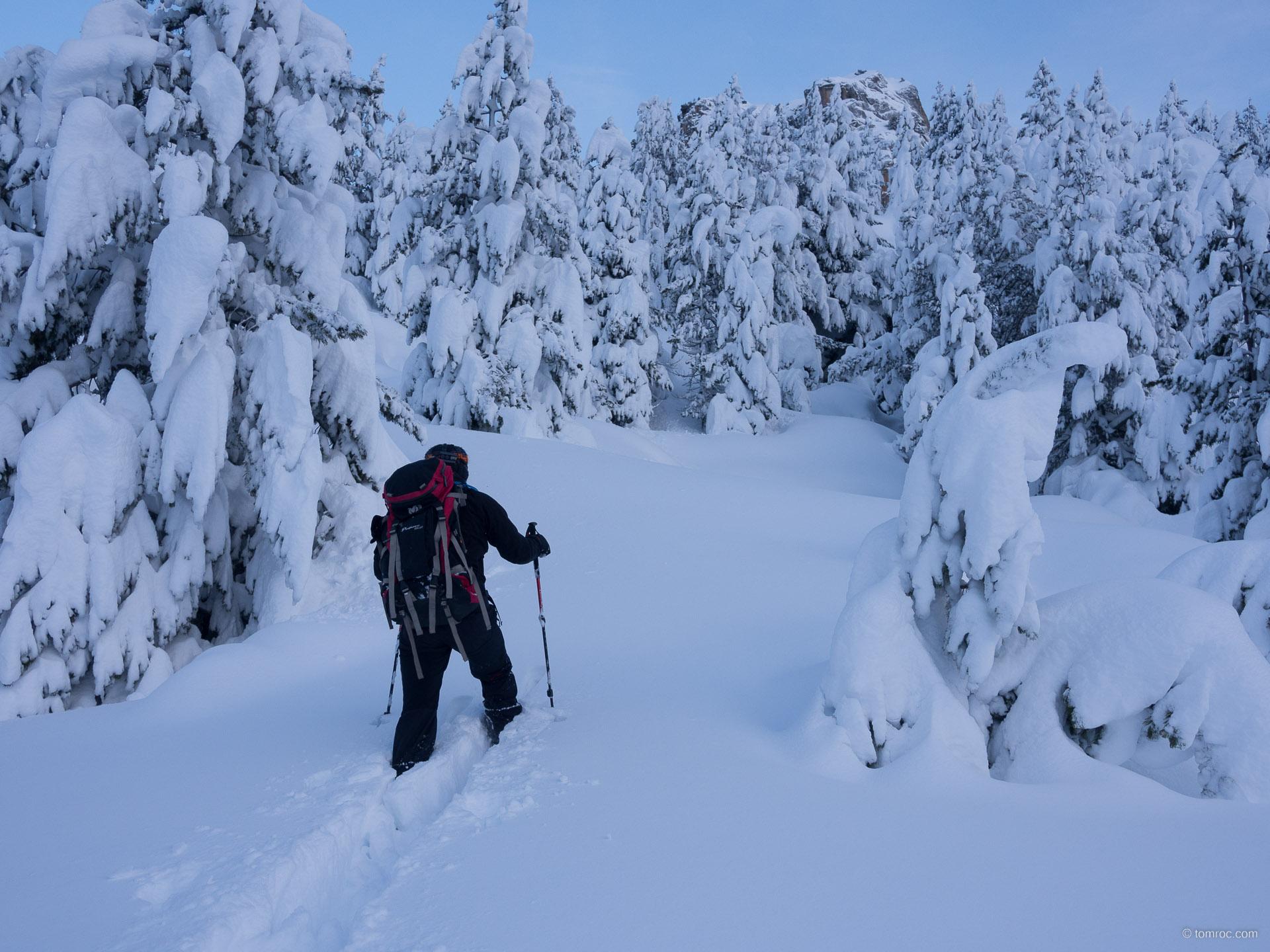 Raid ski rando dans le Vignemale au refuge Wallon