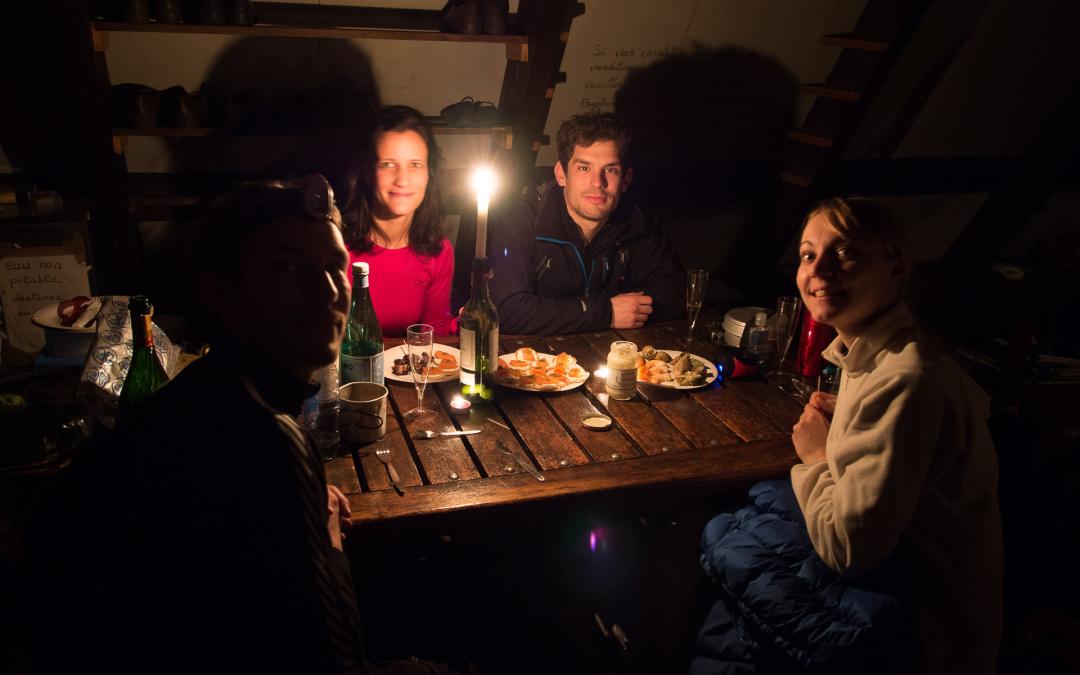 Nouvel an 2013 au refuge de Campana de Cloutou