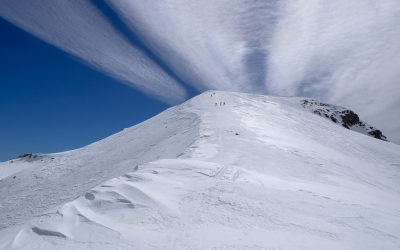Ski de randonnée à la Bayasse, en Ubaye