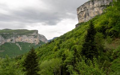 Grande Cournouse, par le Pas et la Grotte de Pabro