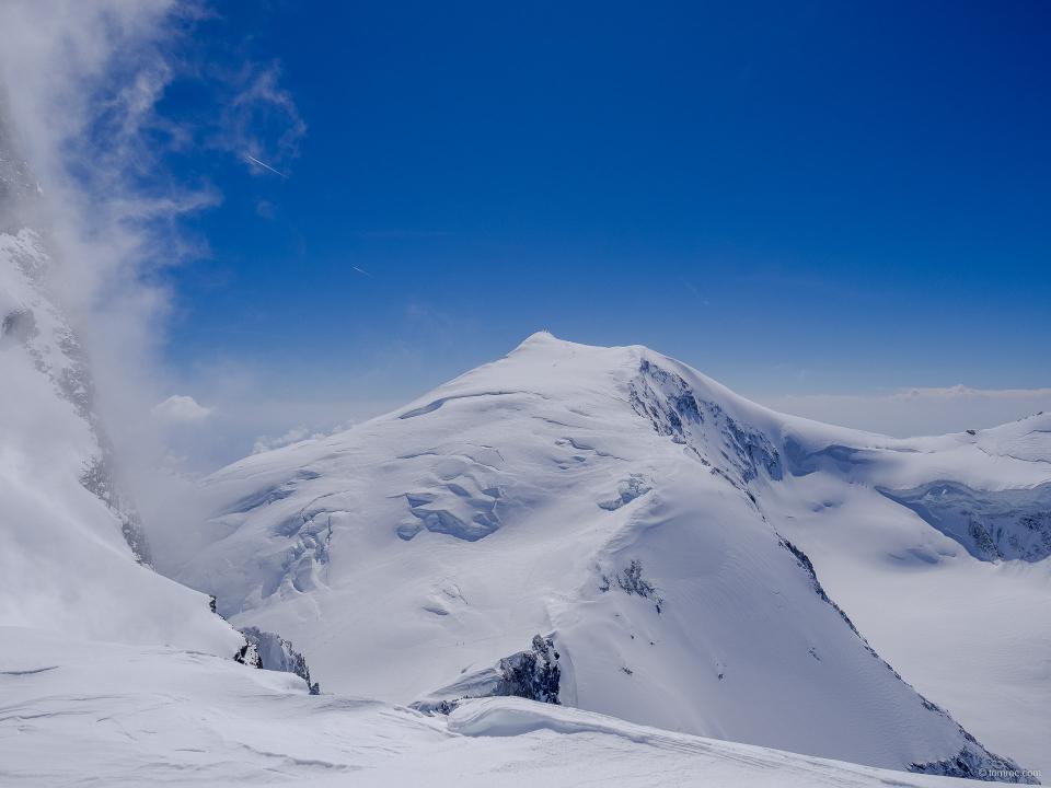 A l'antécime du Rimpfischhorn (4001m)