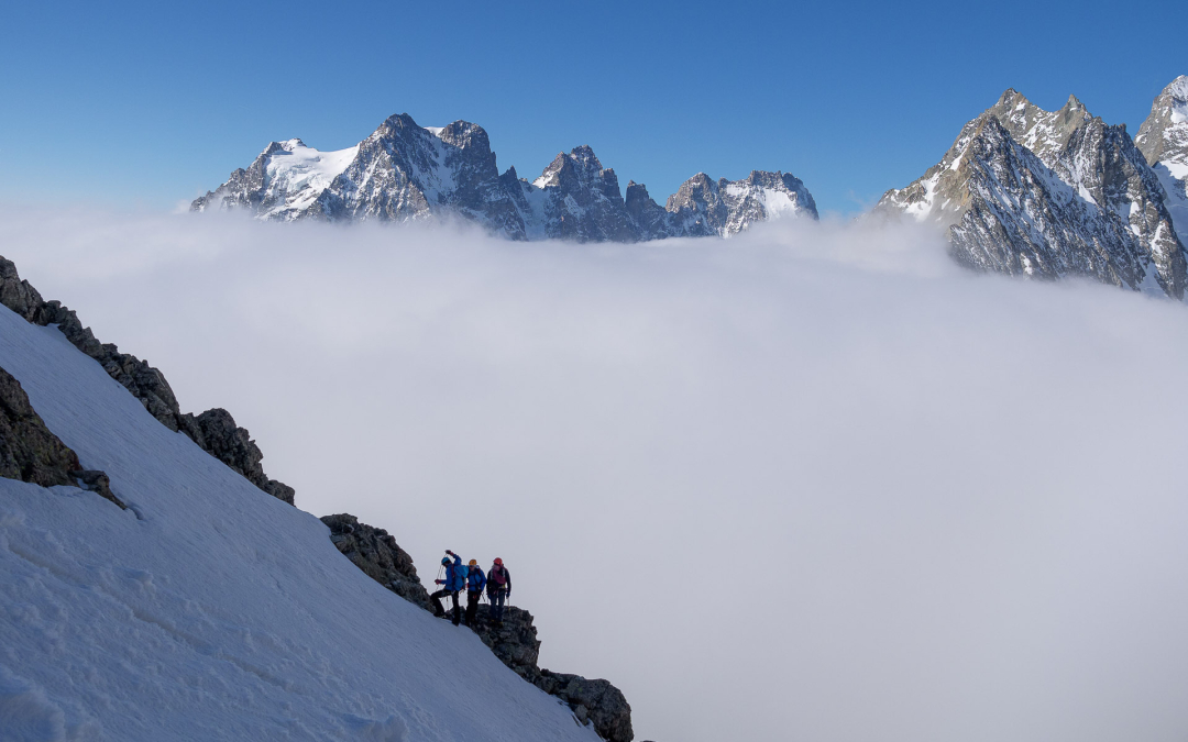 Pic du glacier d'Arsine et Pointe Cézanne (CIALP1)