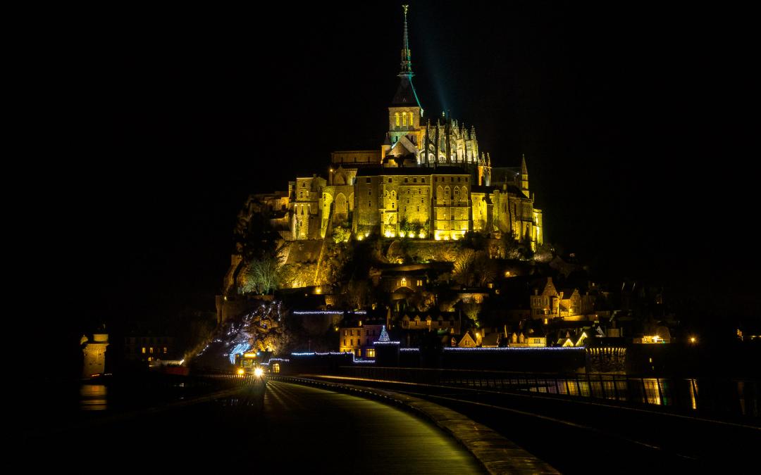 Le Mont St Michel sans touristes