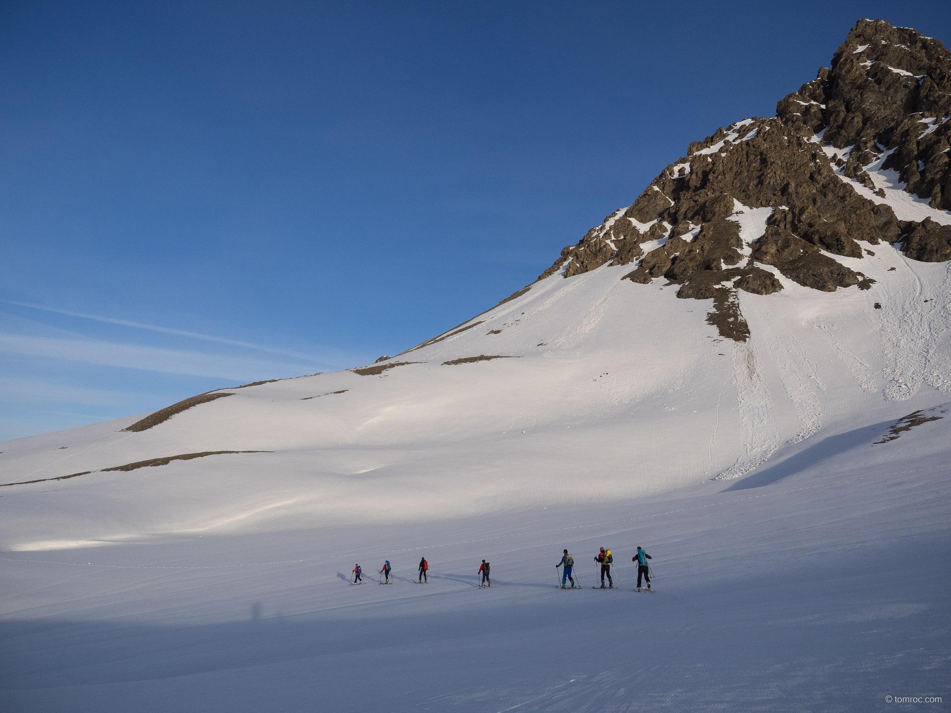 Le Grand Roc Noir en ski de randonnée