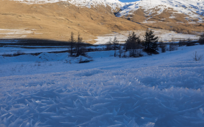 Ski de randonnée entre Fontgillarde et St Véran