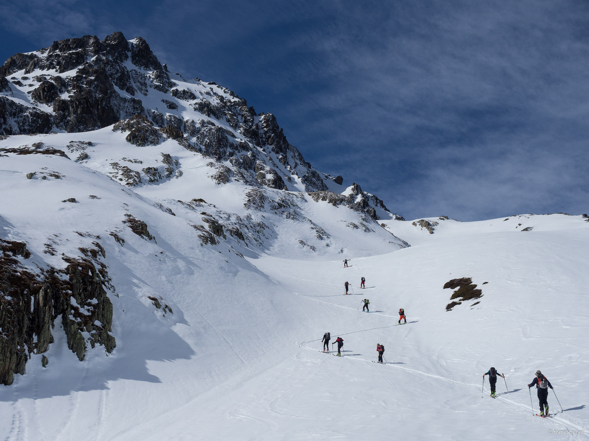 Ski de rando depuis St-Colomban-des-Villards
