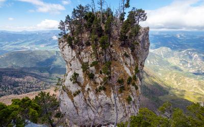 Vire du Glandasse et trail au col de l'Arzelier