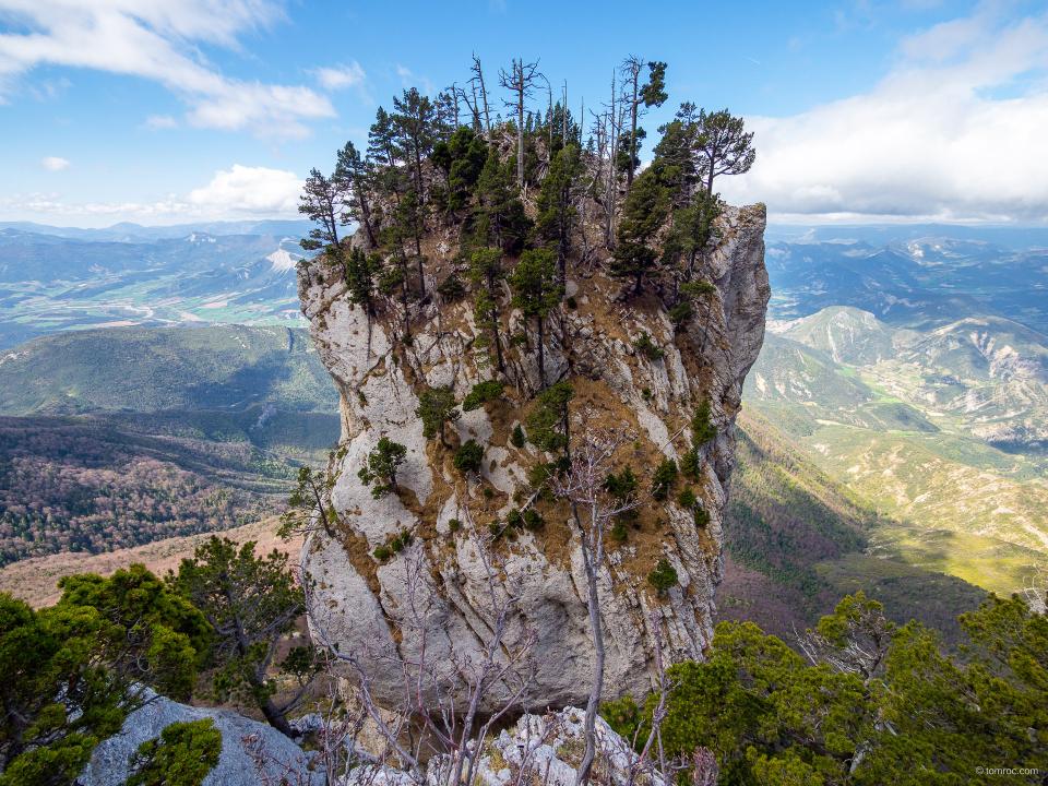 Le rocher du Pestel
