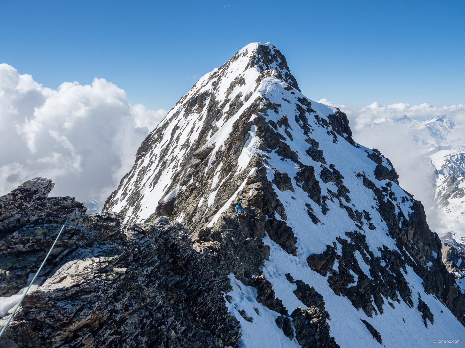 Mont Tondu, Domes de Miage, et via ferrata du Jallouvre
