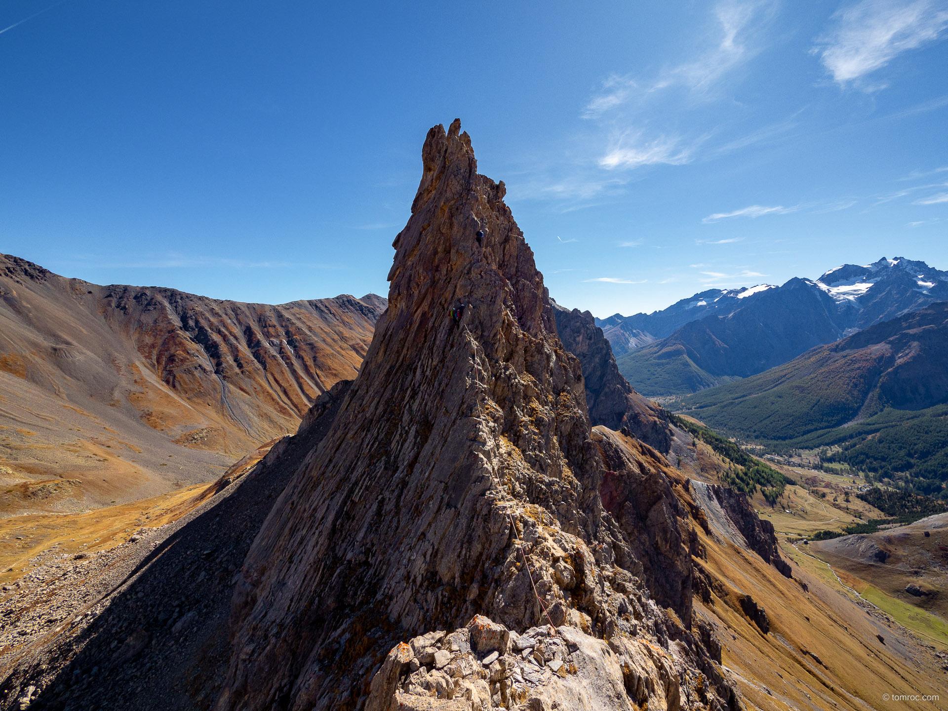 Alpinisme dans les Cerces