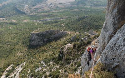 Alpinisme à la Sainte-Victoire