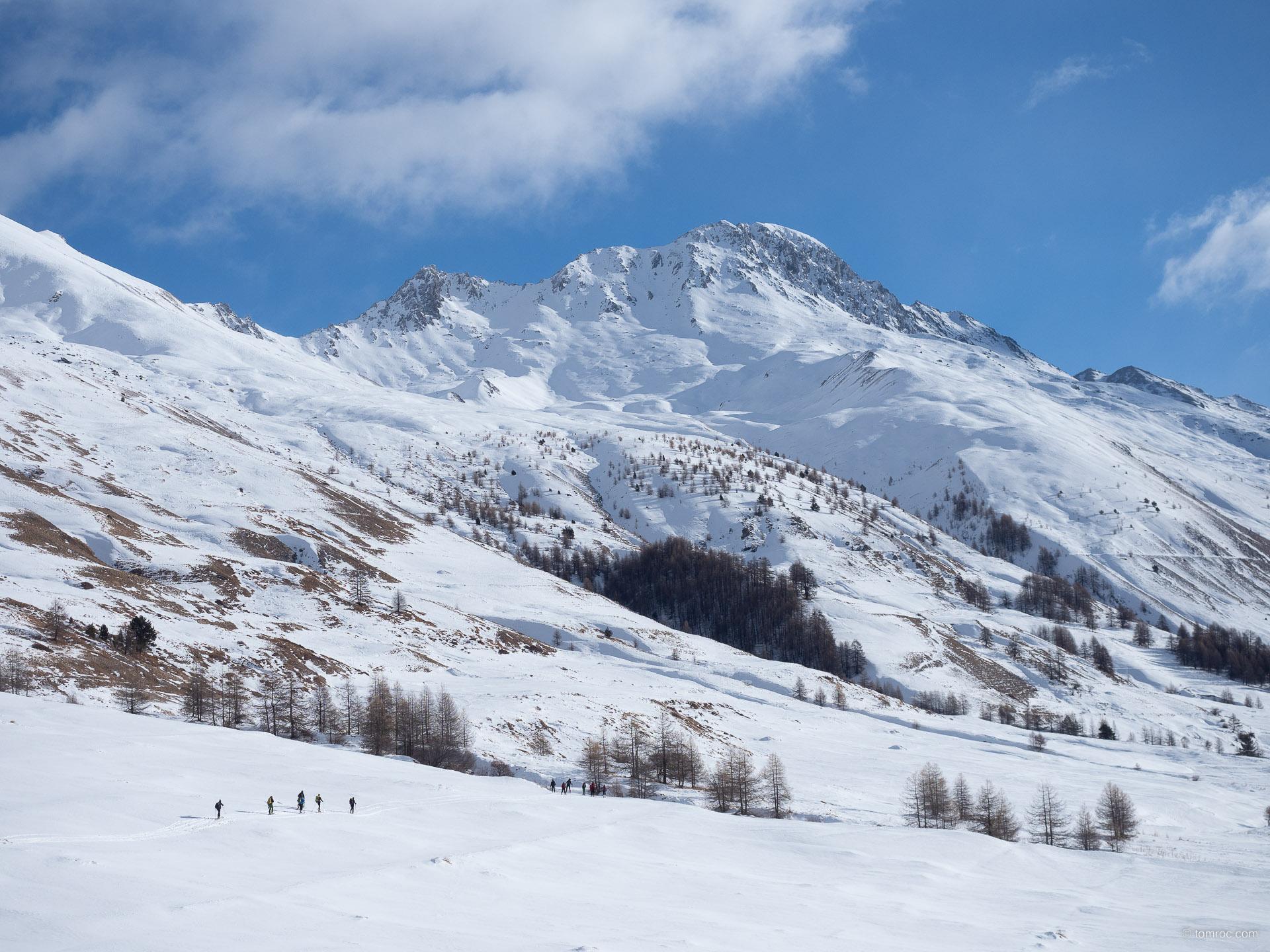 Ouverture de la saison de ski de randonnée depuis Fontgillarde