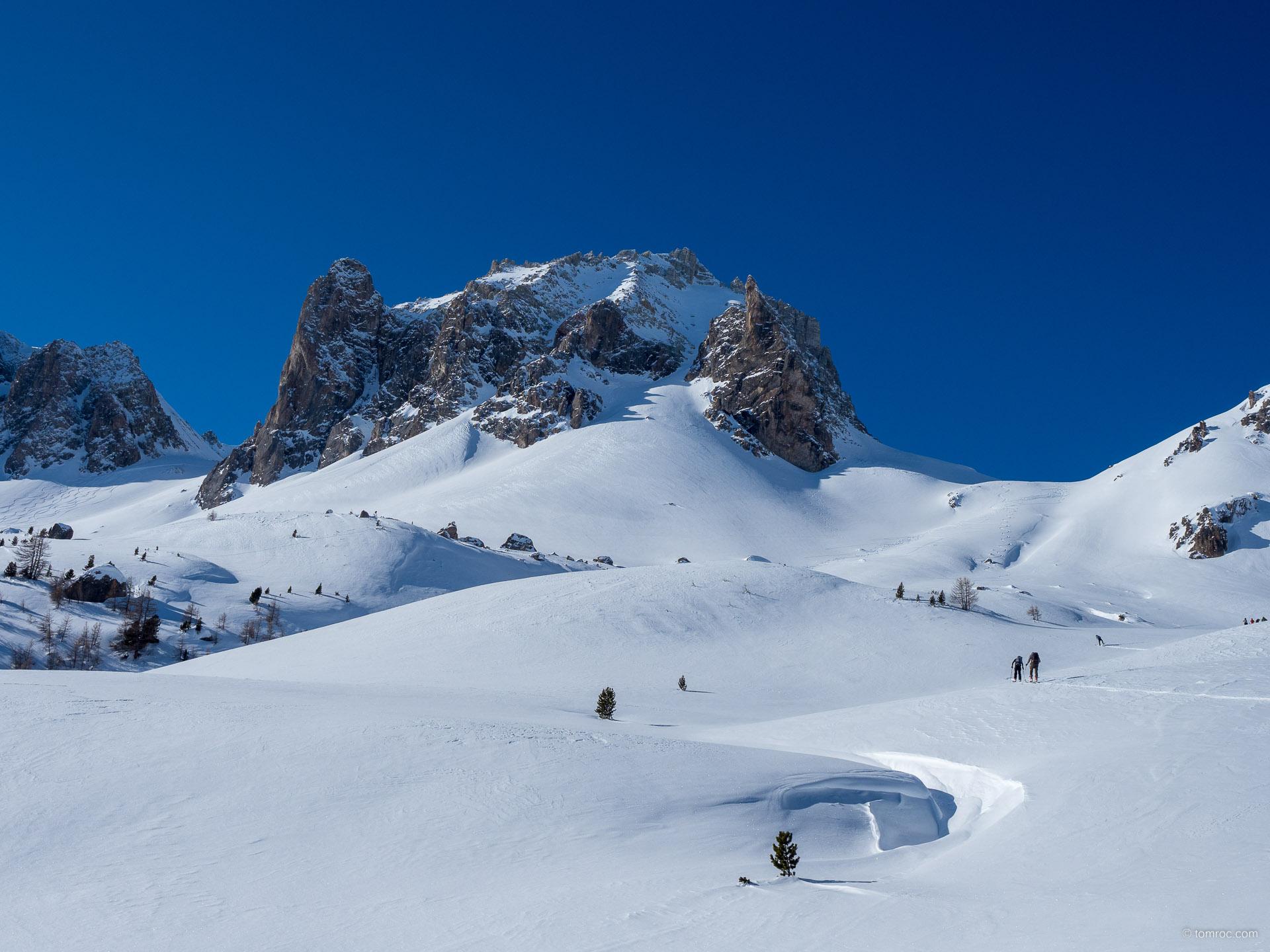 Initiation au ski de randonnée à Névache