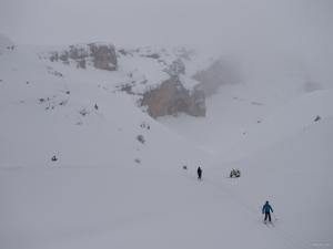 Ski de randonnée dans le Dévoluy