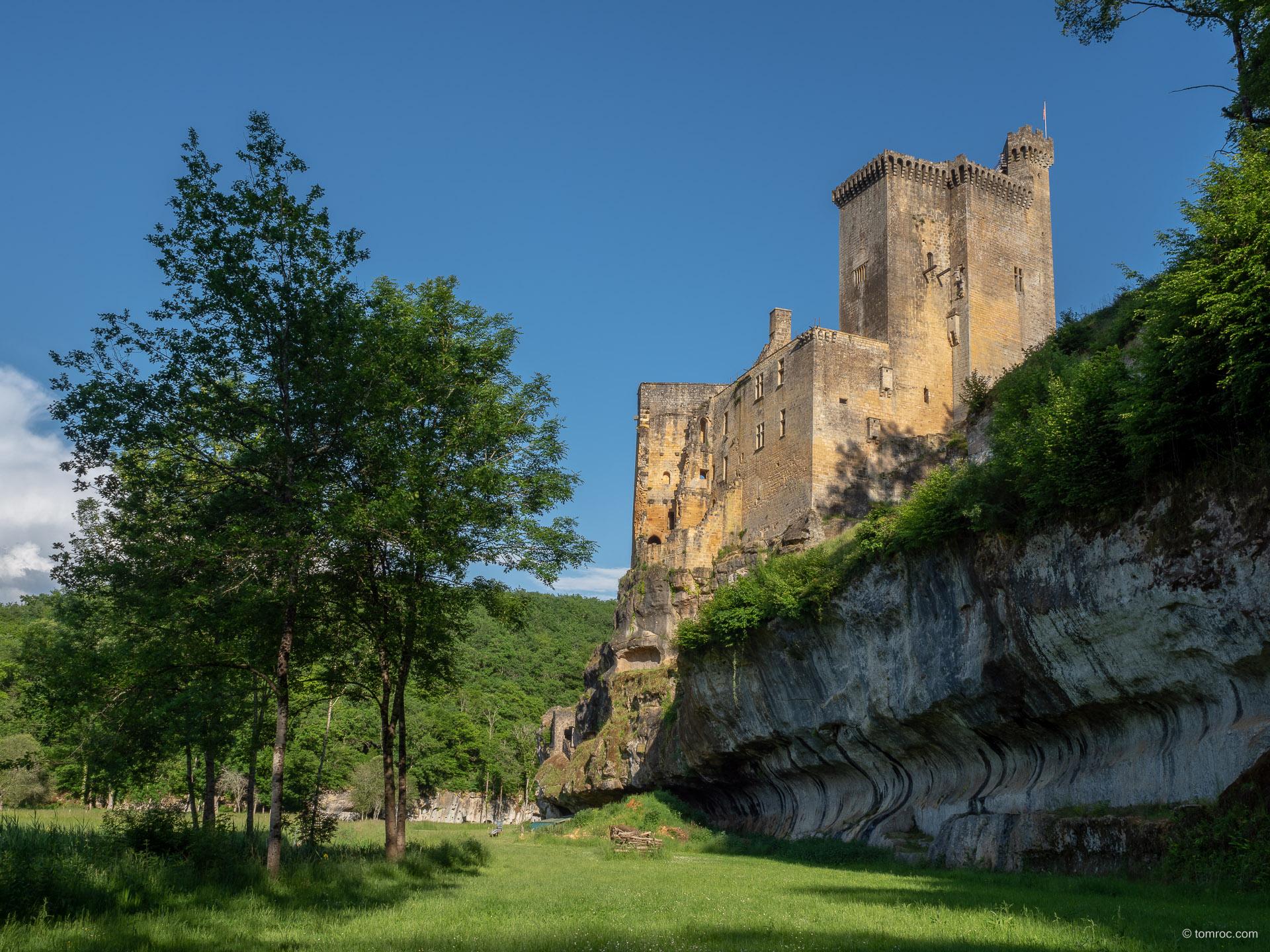 Château de Commarque, en Dordogne