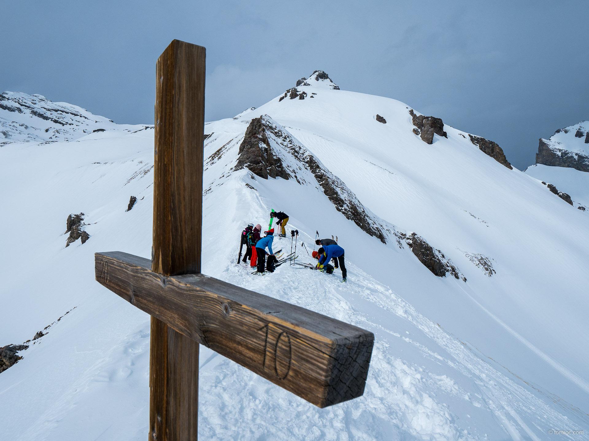 Col du Fenestral et Grand Garde
