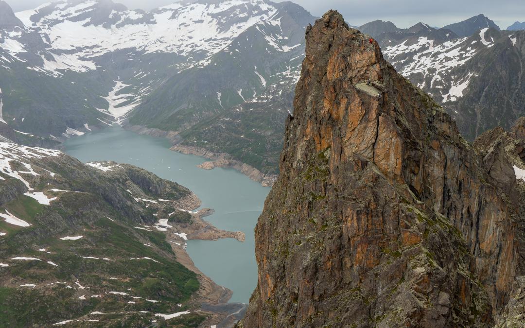 Perrons de Vallorcine et Index de la Glière durant un week-end pluvieux à Chamonix