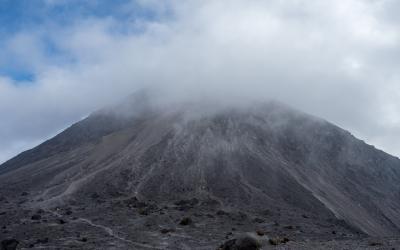 Le volcan Merapi (Java, Indonésie)