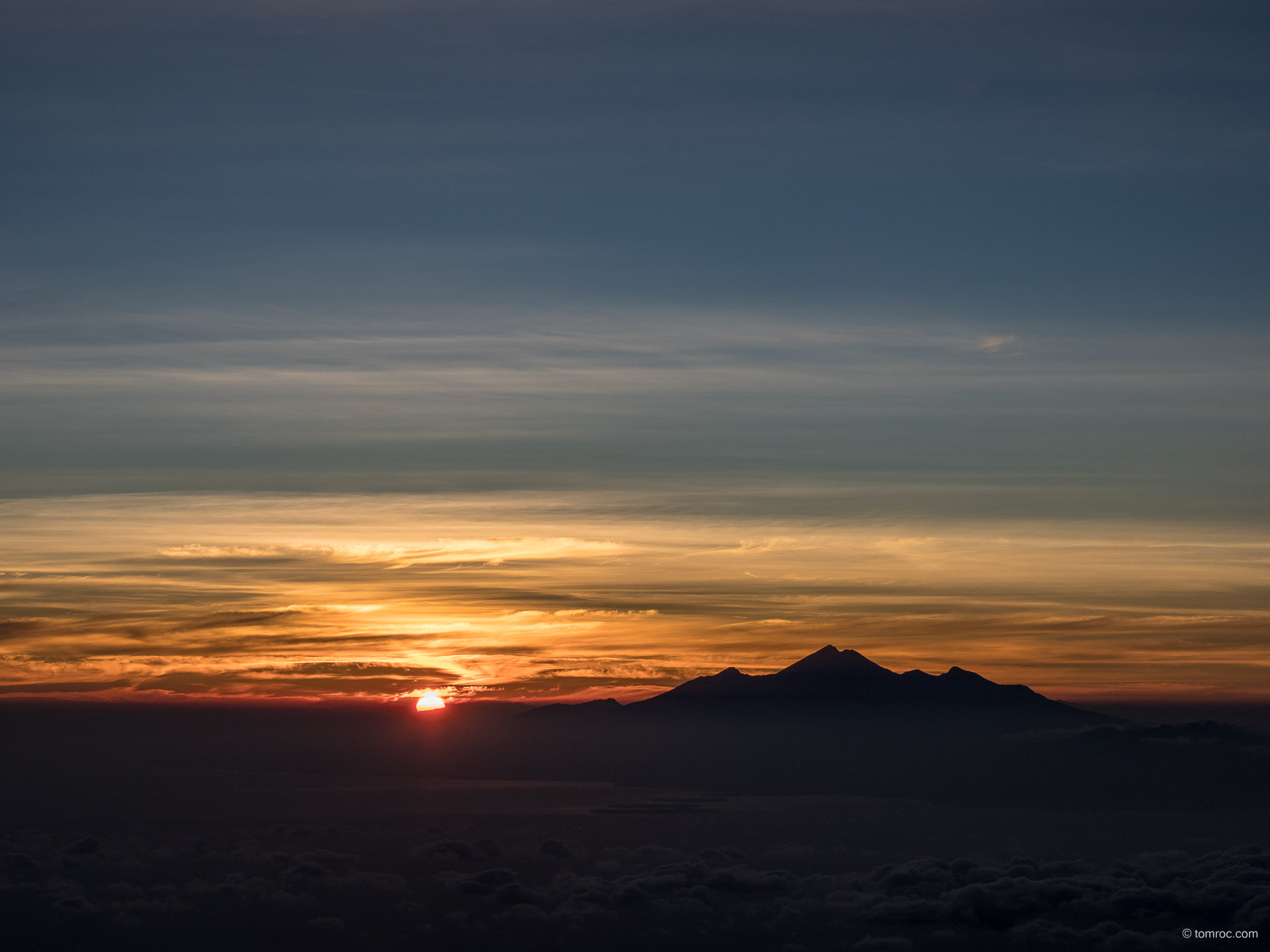 Mont Agung (Bali, Indonésie)